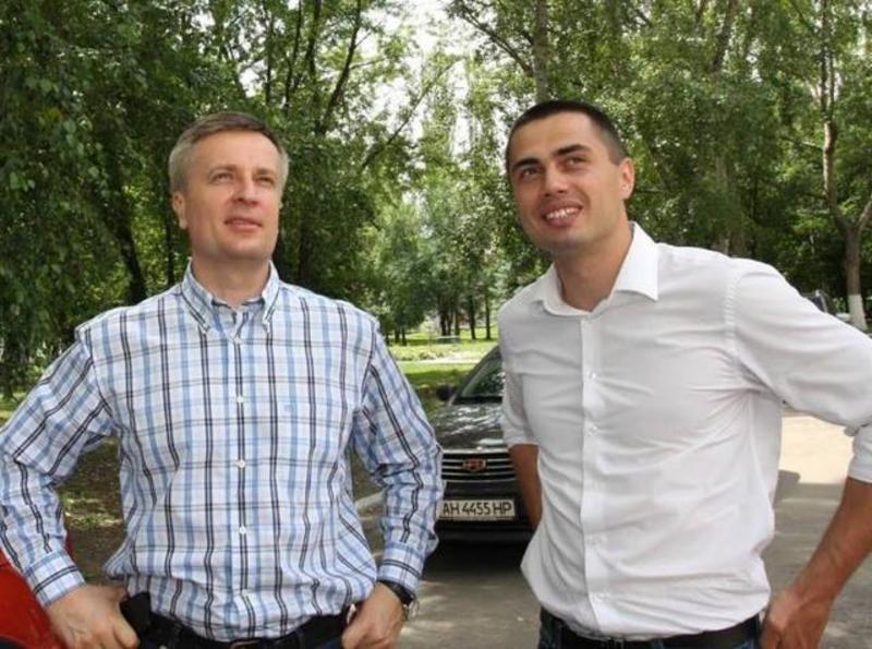 Валентин Наливайченко (на фото - зліва) та Євген Фірсов.