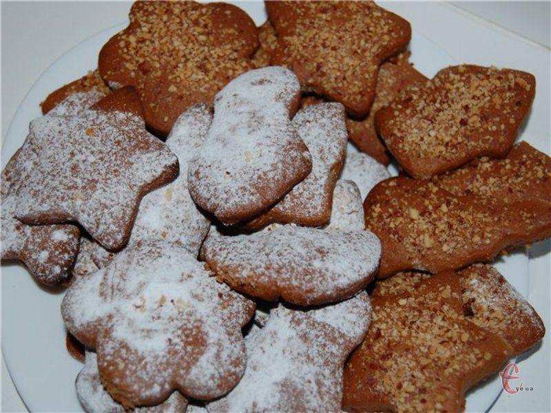 Печиво ароматне й хрустке, готується легко й швидко.