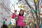 В Полонному волонтери та містяни прикрасили Дерево миру
