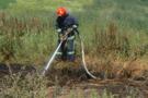 Вогнеборці приборкали масштабну пожежу торфу