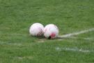 Першість області з футболу: у восьми матчах забили п'ять десятків голів