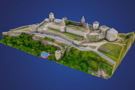 3D-модель Кам'янець-Подільської фортеці розмістять на туристичних листівках