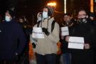 Як у Хмельницькому пройшла акція на підтримку Сергія Стерненка