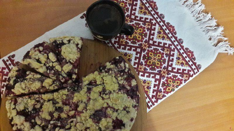 Шматочок пирога - приємне нагадування літніх смаків та ароматів.