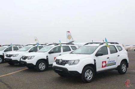 Загальна вартість 13 авто «Renault Duster» склала понад шість мільйонів гривень
