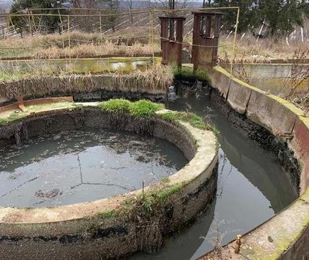 Причиною забруднення річки стали застарілі водоочисні споруди