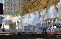 Минулого року цього дня у Хмельницькому провели тиху акцію «Ангели пам'яті»