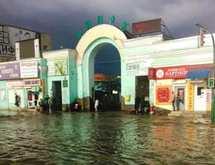 Минулого року в Кам'янці від сильної зливи були затоплені будинки та зруйновані вулиці