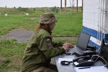 В Силах спеціальних операцій визначали кращих зв'язківців