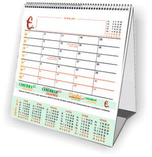 Настільний календар для нотаток (гірка) на кожний МІСЯЦЬ