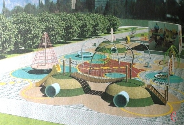 Ігороленд у парку Шевченка