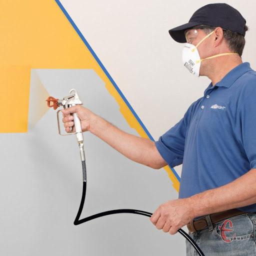 Фарбування стін пулівізатором