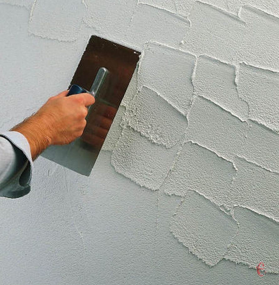 Візуальне шпаклювання стін