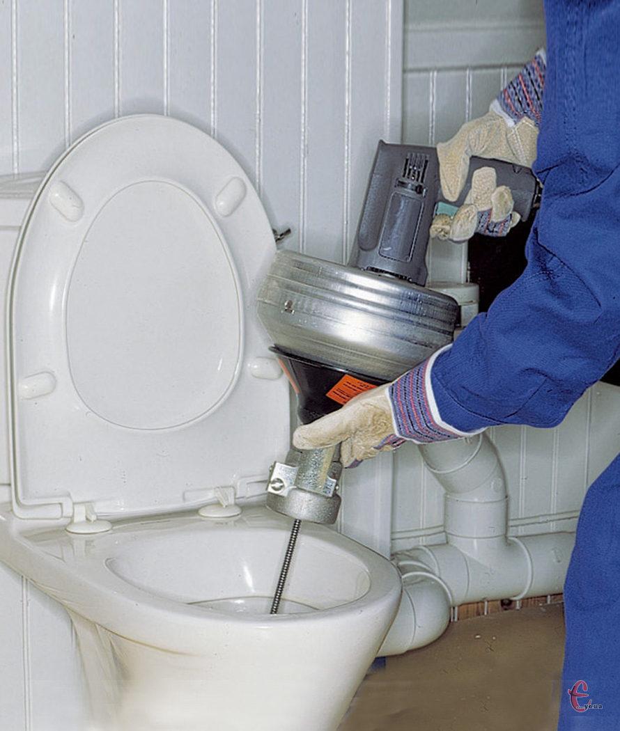 Прочистка канализационных труб, канализации, засоров
