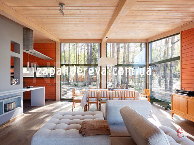 Вагонка з натуральної деревини - якісний матеріал на довгі роки