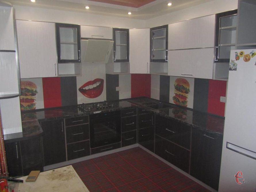 Кухні на замовлення, виготовлення та встановлення