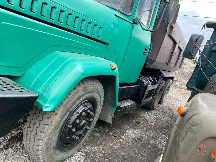самосвал КРАЗ 65055 2008г.в.проходные мосты. грузопод. 20тн.