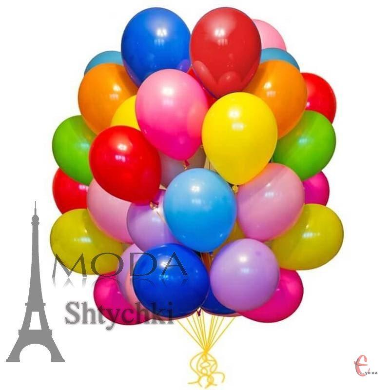 Набор воздушных цветных шариков