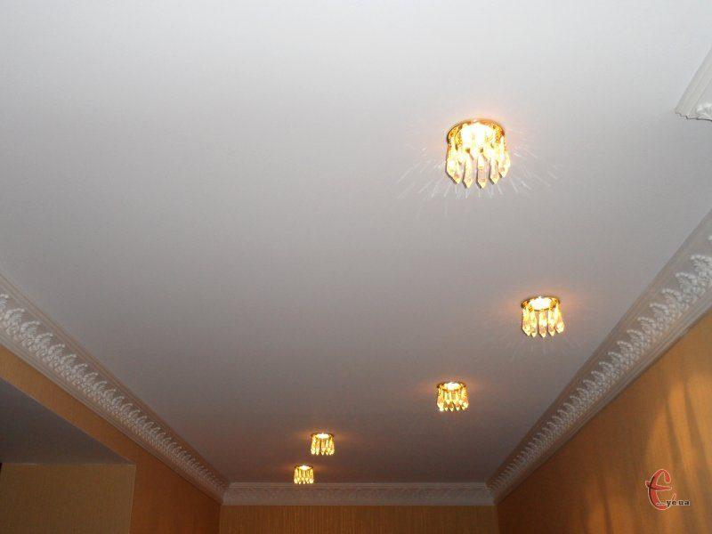 Матовые натяжные потолки от производителя