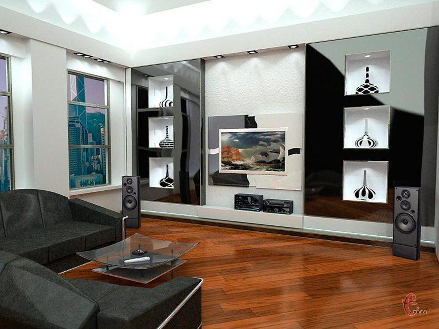 Здійснюємо ремонт вітальні, залу в квартирі та будинку