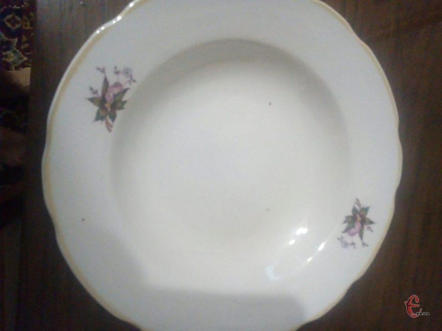 Тарілки полупорційні