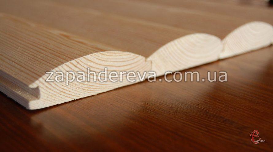 Сайдинг дерев'яний. Сосна. Доставка