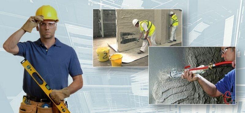 Цементно-піщана штукатурка стін