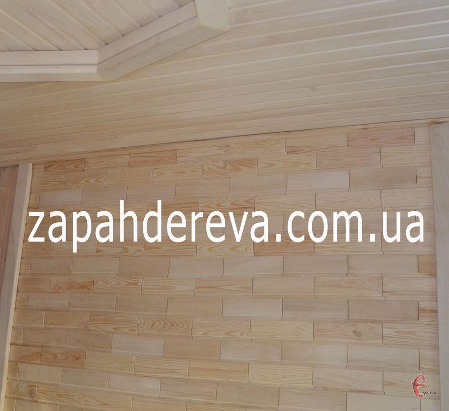 Вагонка цеглинка - стіновий паркет
