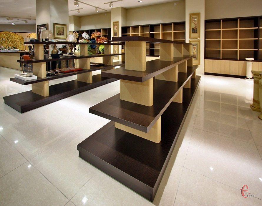 Меблі для магазинів на замовлення