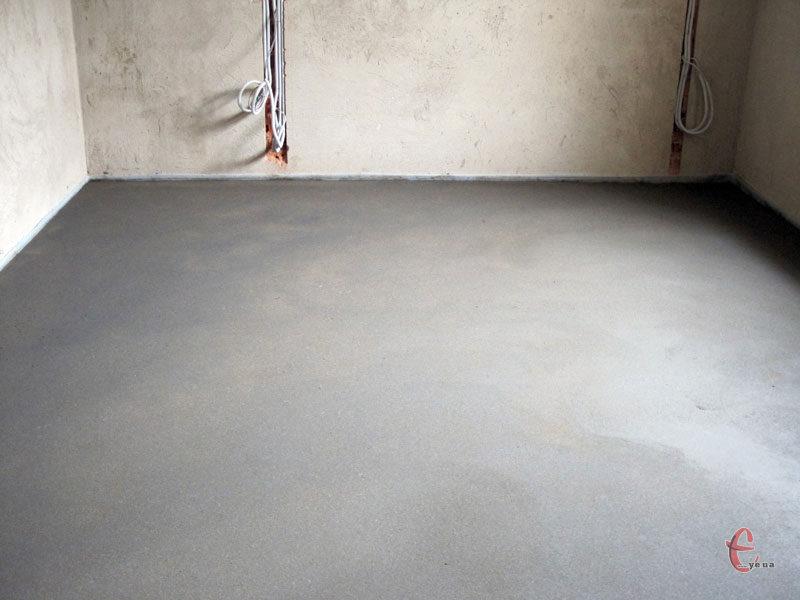 Стяжка підлоги (швидко та якісно)