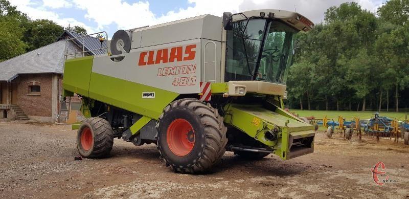 Комбайн Claas Lexion 480 2000г. в. 360л.с