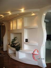 Гіпсокартонні конструкції будь-якої складності, ніші, каміни з гіпсокартону