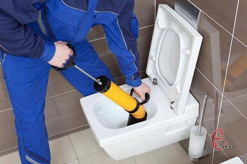 Прочистка канализации. Устранение засоров. Сантехник