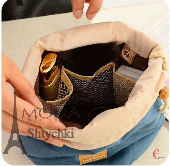Косметичка-мешок на шнурке