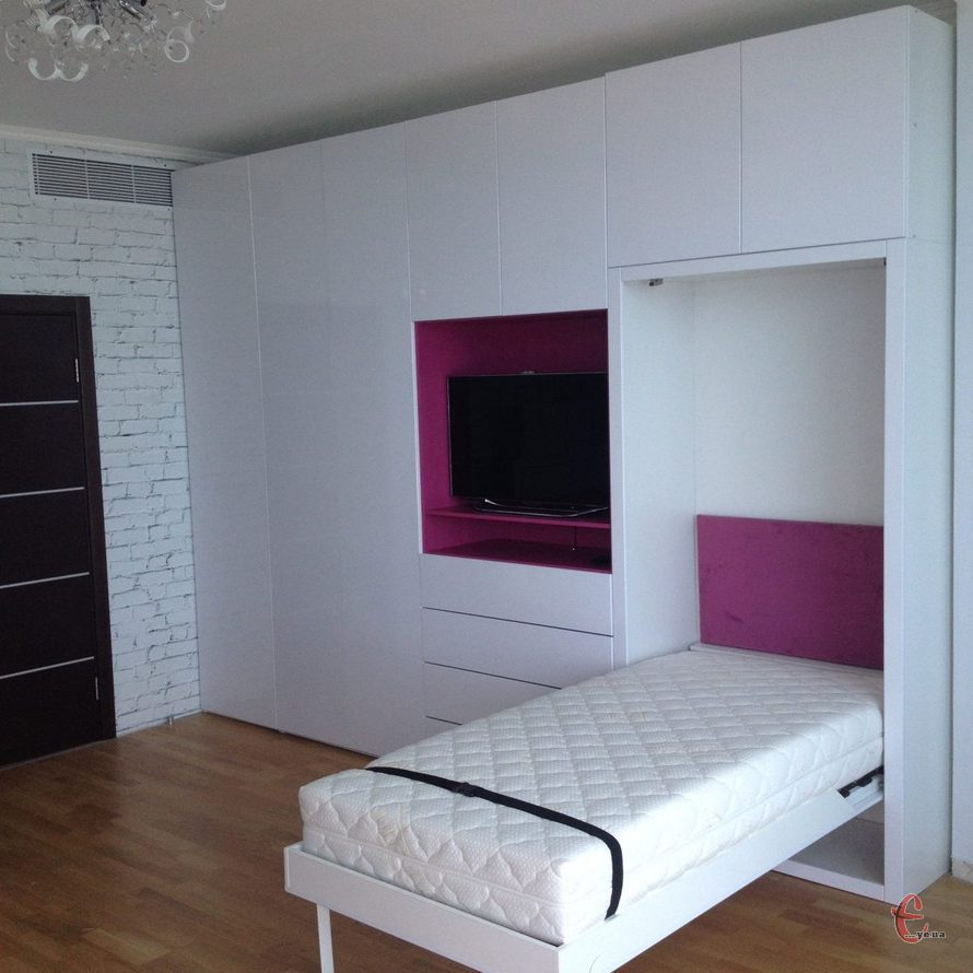 Меблі-трансформер, ліжко-трансформер, шафа-ліжко на замовлення, новинка