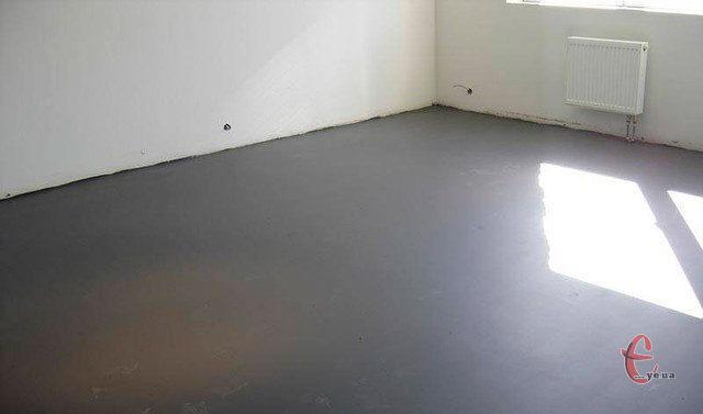 Стяжка підлоги в котеджі