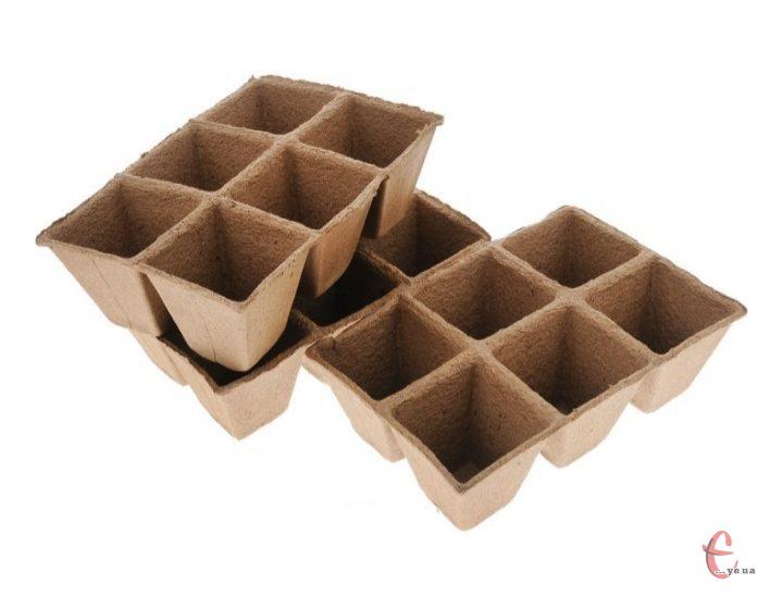 Торф'яні стаканчики (касети) для розсади