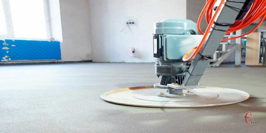 Механізована стяжка підлоги