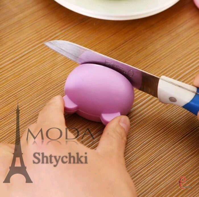 Точилка с ушками для ножей и ножниц
