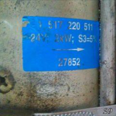 Продам мотор Bosch