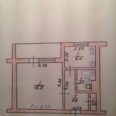 Продам 1-кімнатну квартиру, Ракове