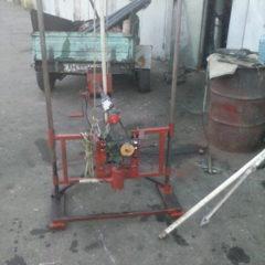 Установка для гідробуріння скважин на воду.