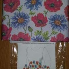Жіноча заготовка сорочки для вишивки