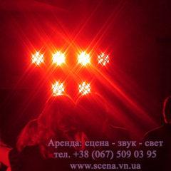 Оренда світлового обладнання: прожектора, голови, світлова гармата