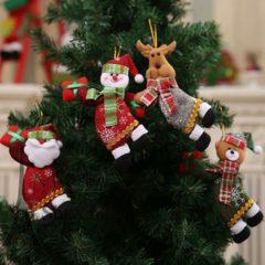 Мягкие игрушки из фетра на елку - большие