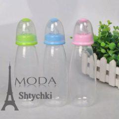 Детская бутылочка с ложечкой для кормления