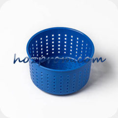 Синяя сырная форма Лазурь с выходом продукции 0,4 - 0,7 кг.