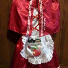 Новорічний костюм Червона шапочка, на 3-5 років