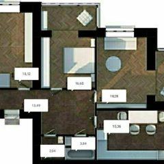 Продається шикарна 3-кімнатна квартира від забудовника
