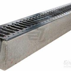 Лоток бетонний з решіткою і кріпленням